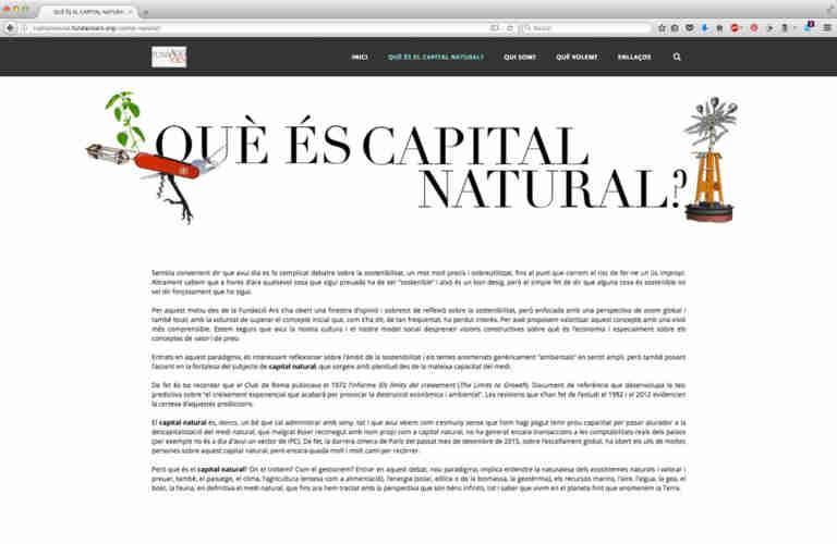 Imanol Buisan Capital Natural